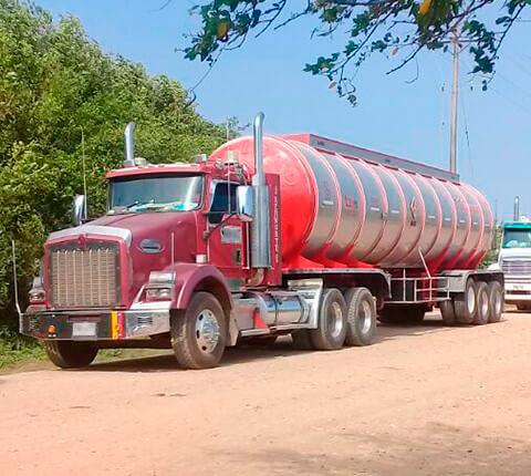 Transporte de carga líquida